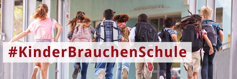 Titelbild #kinderbrauchenschule