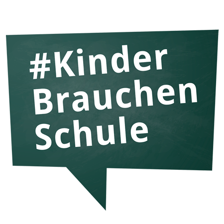Logo Der Elterninitiative Kinder brauchen Schule